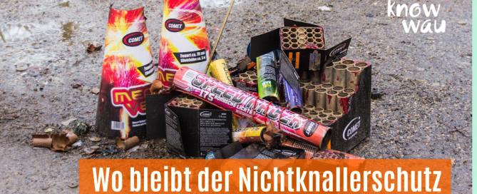 Reste von Raketen