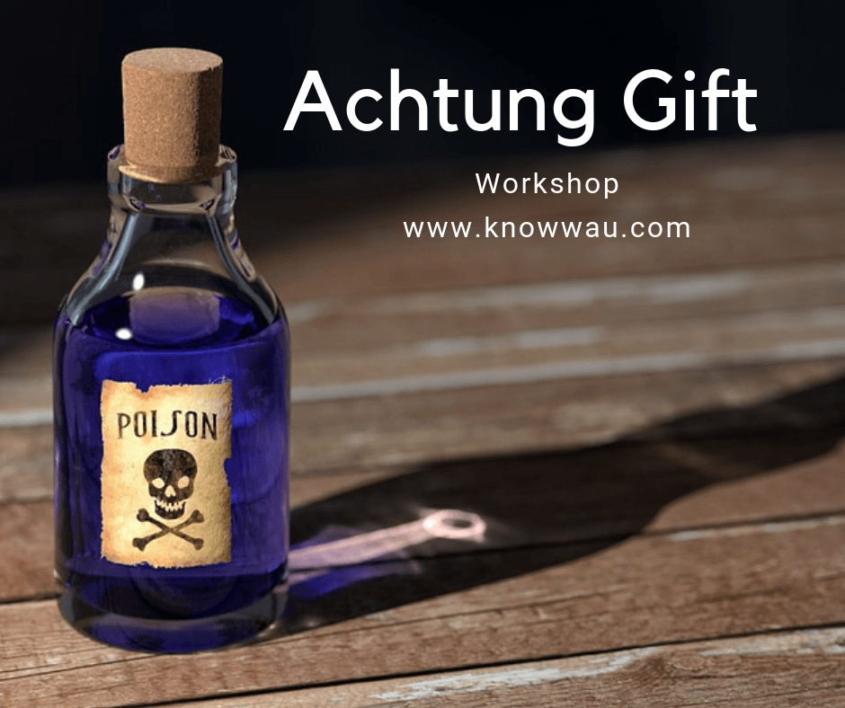 achtung gift