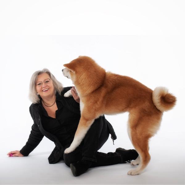 Karin Immler mit Shogun